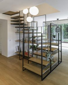 Istanbul-Based Design Agency Create Stripped Out Staircase - Thuisdecoratie House Design, Interior, Home, Staircase Design, Bedroom Design, House Interior, Staircase Railing Design, Interior Design Bedroom, Basement Design