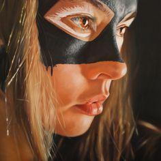 Les Super Héroïnes en Bodypainting – Superbes peintures de JKB Fletcher