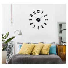 Moderní nalepovací hodiny do obýváku - dumdekorace.cz Design, Home Decor, Decoration Home, Room Decor, Home Interior Design, Home Decoration, Interior Design