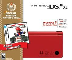 Nintendo DSi XL Red Bundle with Mario Kart From $127.90 Amazing Discounts Your #1 Source for Video Games, Consoles & Accessories! Multicitygames.com Click On Pins For More Info!