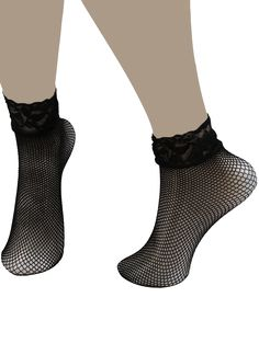 SHARE & Get it FREE | Fish Net Over Ankle Socks with Lace TrimFor Fashion Lovers only:80,000+ Items • New Arrivals Daily • Affordable Casual to Chic for Every Occasion Join Sammydress: Get YOUR $50 NOW!