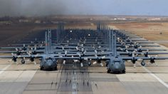 Imagine the sound of 24 C-130 Hercules transports buzz-sawing their way down the runway at Dyess Air Force Base. This incredible scene, and the many others posted below, was the result of the USAF's latest Joint Forcible Entry Exercise, which also saw 20 C-17 Globemasters take part, along with a plethora of fighter and support aircraft, as well as many ground combat elements. This Video Will Make You Appreciate The Beauty Of The C-17 Globemaster This Video Will Make You Appreciate The…