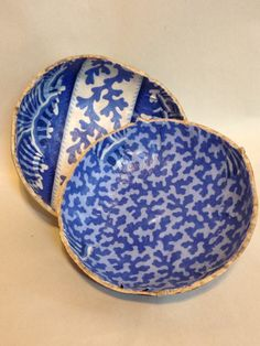 Inside of The Seashore canteen gourd box by Kim Walther