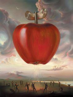 Vladimir Kush,Clockwork Apple