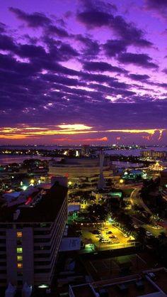 Cancun City, Mexico,