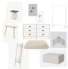 A minimalist dressin