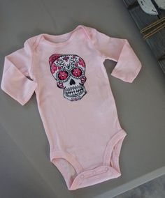 Olivia Paige  Little punk rock sugar skull by OliviaPaigeClothing