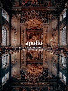 "andrumedas: "" Apollo, Greek god of healing, medicine, music and poetry "" Greek Mythology Art, Egyptian Mythology, Roman Mythology, Percy Jackson, Apollo Aesthetic, Apollo Greek, Eros And Psyche, Goddess Names, Son Of Zeus"