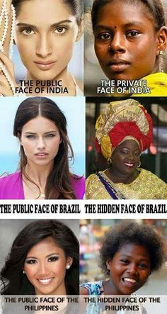 The real faces of color