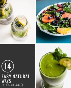 14 Easy, Natural Ways to Detox Daily | http://hellonatural.co/14-easy-natural-ways-to-detox-daily/