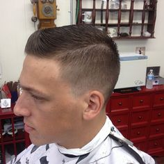 Fade Slicked side part