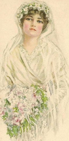 June Bride by in pastel, via Flickr