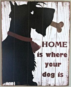 SCOTTISH TERRIER DOG decor collectable home accent hanging large scottie sign Home is where your Scotties are I Love Dogs, Puppy Love, Cute Dogs, Animals And Pets, Cute Animals, Animal Fun, Baby Animals, Dog Rules, Dog Signs