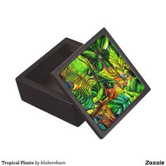 Shop Tropical Plants Gift Box created by blakerobson. Tropical Plants, Keepsake Boxes, Create, Gifts, Painting, Products, Presents, Painting Art, Paintings