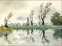 Painting from Sketches James Fletcher Watson
