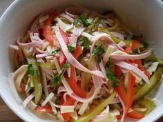 Wurstsalat wurst salad Austrian Food, Austrian Recipes, Beer, Wine, Baking, Ethnic Recipes, Root Beer, Ale, Bakken