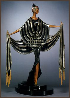 Erte sculptures (Tyrtova Roman) - Opening Night - Erte - one of the most colorful characters of the twentieth century art scene. Artist fashion, graphic artist, author and sculptor of theatrical costumes, he remained in the history of the art of our century as the brightest representative of Art Deco. Real name of one of the most successful artists of the twentieth century - Roman Petrovich Tyrtov. Descendant of an old Russian family, he became known around the world under the pseudonym…