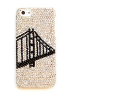 Golden Gate Bridge iPhone 5 cover, Crystal iPhone 5 case, San Francisco, iPhone 5s on Etsy, $45.00