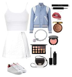 """""""Untitled #598"""" by lalimalenagonzalez-1 on Polyvore featuring beauty, Yves Saint Laurent, Topshop, Guild Prime, adidas Originals, BERRICLE, Joanna Maxham, MAC Cosmetics, Marc Jacobs and Physicians Formula"""