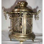 cricket cages | eBay Image 1 Antique Chinese Brass Pagoda CRICKET CAGE Signed Old !!