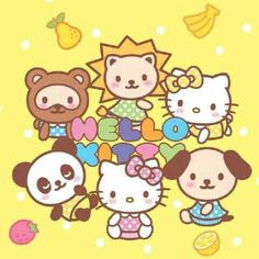 Hello Kitty And Friend Pictures Stuff Sanrio