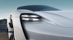 Tribute to tomorrow. Porsche Concept Study Mission E. via Porsche AGMore car design here.