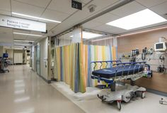 Treatment areas within the expanded emergency department at NYU Langone Medical Center, which opened in spring 2014. Photo: NYU Langone Medical Center