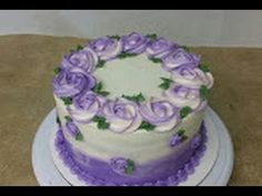 (notitle) - cupcakes and cakes - Pastel de Tortilla Cake Decorating Techniques, Cake Decorating Tutorials, Cookie Decorating, Buttercream Decorating, Buttercream Cake, Buttercream Flowers, How To Pipe Roses, Rosette Cupcakes, Piping Frosting