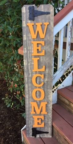 Front Door Sign distressed fall decorations   Farmhouse fall decor, Fall Farmhouse decor, Fall decorations, Fall ideas, Fall decor ideas and inspiration, rustic fall ideas, ideas dfor fall , decor ideas for fall, fall decor diy, fall decor ideas, rustic fall decor, modern fall decor, farmhouse fall decor, fall decor dollar tree, fall decor outdoor, fall decor front porch, fall decor bedroom, fall decor living room,#fall #welcome #woodsign