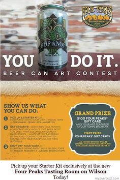 Four Peaks Launches Beer Can Art Contest