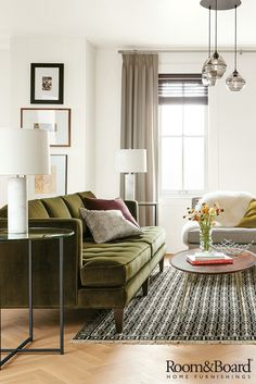 Find modern, American-made living room furniture and home accessories designed to fit your modern life.