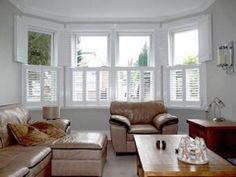 How To Dress A Bay Window In Tier On Shutters Cly