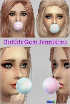 Jenni Sims: BubbleGum Transparent • Sims 4 Downloads