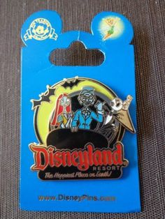 Disney Pin DLR Disneyland® Jack and Sally on The Haunted Mansion 2011 | eBay