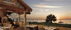 Sample some colorful Caribbean Cuisine at Gumbo Limbo, then take in a glorious sunset from the Sand Bar on the south boardwalk at The Ritz-Carlton, Naples.