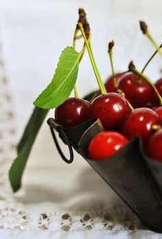 Griotte cherries...