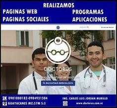 PAGINAS WEB,PAGINAS SOCIALES,PROGRAMA Y APLICACIONES PERSONALIZADAS
