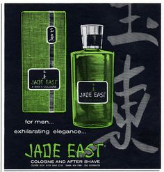 Vintage Jade East for Men ad from February 1967 Playboy magazine.