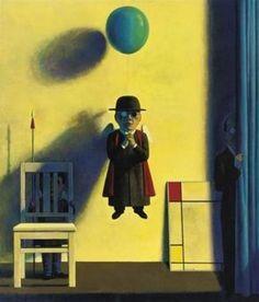 Liu Ye, COMPOSITION IN RED, YELLOW AND BLUE  on ArtStack #liu-ye-liu-ye #art