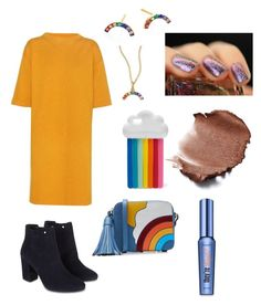 """Rainbow Bright"" by sarah-stoner-1 on Polyvore featuring Étoile Isabel Marant, Monsoon, IaM by Ileana Makri, STELLA McCARTNEY, Anya Hindmarch and Benefit"