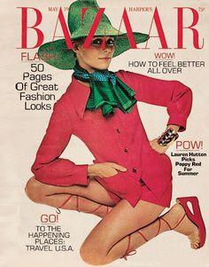 A Bazaar cover from 1971 Hiro  - HarpersBAZAAR.com