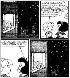 Hay más de lo que se necesita-Mafalda