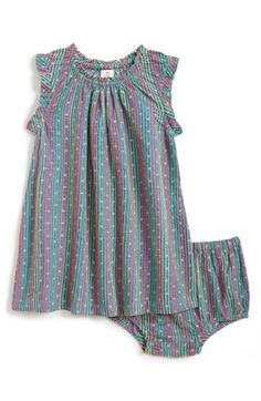 Tucker + Tate Stripe Sleeveless Dress & Bloomers (Baby Girls) available at #Nordstrom