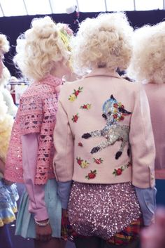 Meadham Kirchhoff SS12 love... this collection is eternally cute!