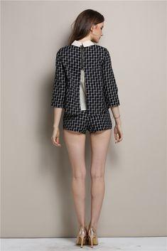 Fall Clothing Set--Top+Shorts  B394