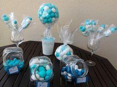 Candy bar para baby shower