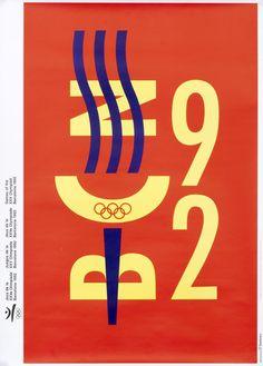 Barcelona '92 by Nolla, Quim | Shop original vintage #posters online: www.internationalposter.com.