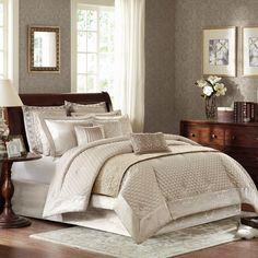 Vivienne 12 Piece King Comforter Set