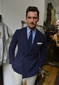 David Gandy attends the Nigel Cabourn presentation during The London Collections Men SS17 on June 10 2016 in London England