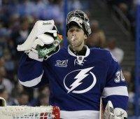 Lightning goalie #BishPlease